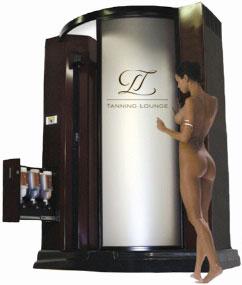 High-Tech Bräunungskabine von Tanning Lounge